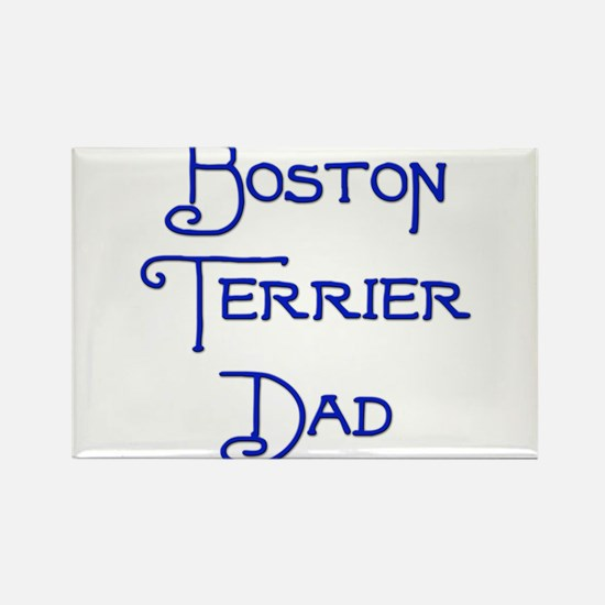 Boston Dad 18 Rectangle Magnet