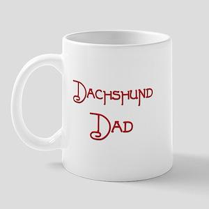 Dachshund Dad 1 Mug