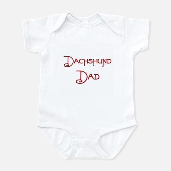 Dachshund Dad 1 Infant Bodysuit