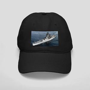 USS Missouri Ship's Image Black Cap