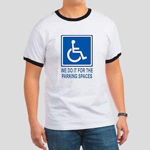 Handicapped Parking Ringer T