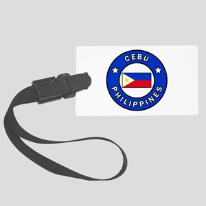 Cebu Philippines Large Luggage Tag