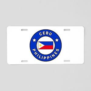 Cebu Philippines Aluminum License Plate