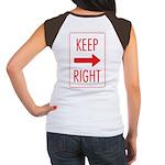 Keep Right Women's Cap Sleeve T-Shirt