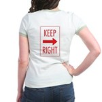 Keep Right Jr. Ringer T-Shirt