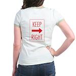 Keep Right Jr. Ringer T-Shirt