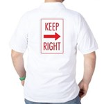 Keep Right Golf Shirt
