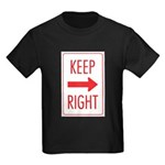 Keep Right Kids Dark T-Shirt