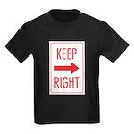 Keep Right Kids Dark T-Shirt