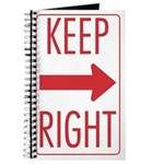 Keep Right Journal