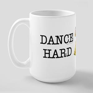 Dance Hard Large Mug
