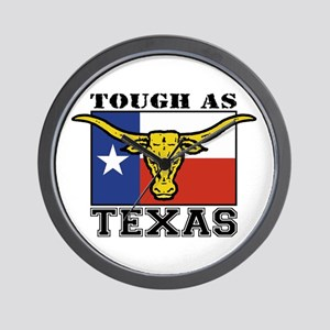 Tough as Texas Wall Clock