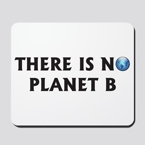 There Is No Planet B Mousepad