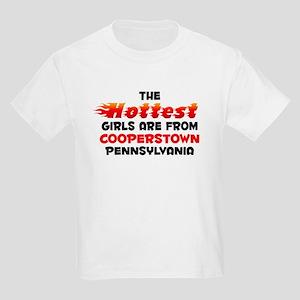Hot Girls: Cooperstown, PA Kids Light T-Shirt