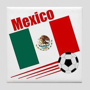 Mexico Soccer Team Tile Coaster