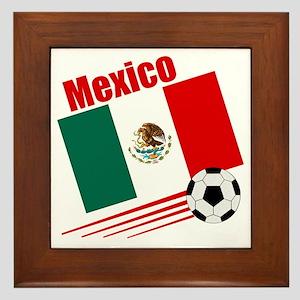Mexico Soccer Team Framed Tile