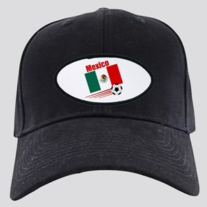 Mexico Soccer Team Black Cap