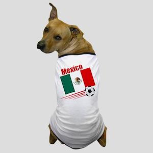 Mexico Soccer Team Dog T-Shirt