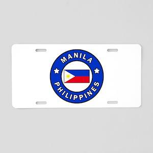 Manila Philippines Aluminum License Plate