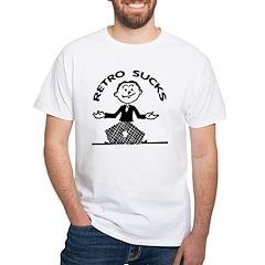 Retro Sucks White T-Shirt