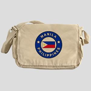 Manila Philippines Messenger Bag