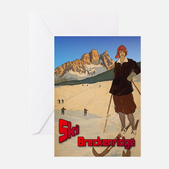 Ski Breckenridge Greeting Cards (Pk of 20)