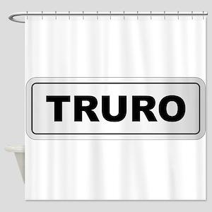 Truro City Nameplate Shower Curtain