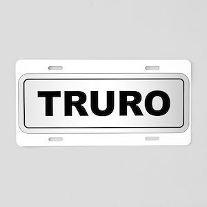 Truro City Nameplate Aluminum License Plate