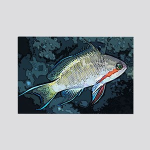 Artistic Anthias Rectangle Magnet