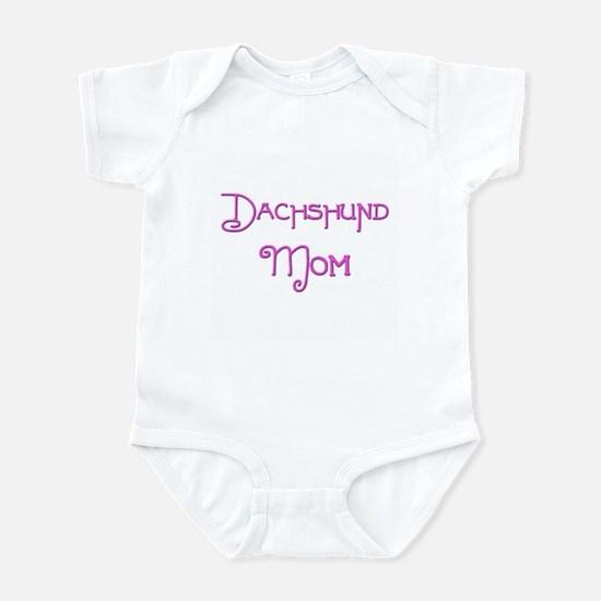 Dachshund Mom 6 Infant Bodysuit