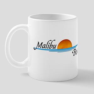 Malibu Beach Sunset Mug