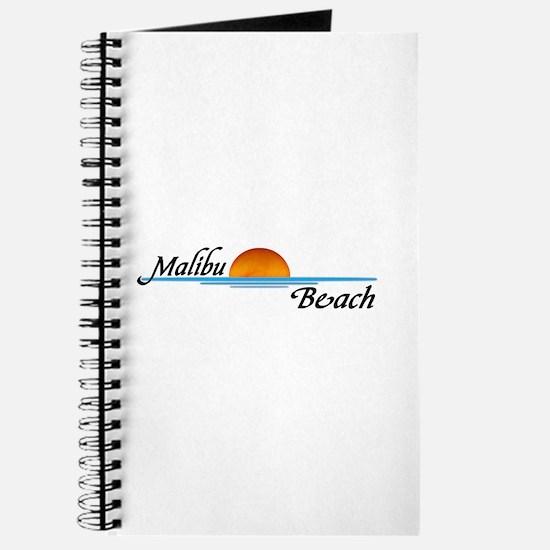 Malibu Beach Sunset Journal