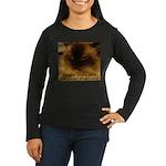 Prior Knowledge Women's Long Sleeve Dark T-Shirt