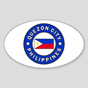 Quezon City Philippines Sticker