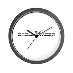 CYCLE RACER Wall Clock