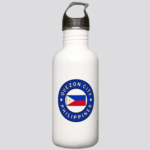 Quezon City Philippine Stainless Water Bottle 1.0L