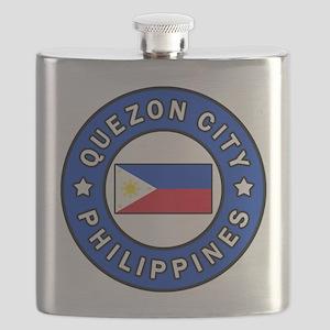 Quezon City Philippines Flask
