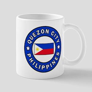 Quezon City Philippines Mugs