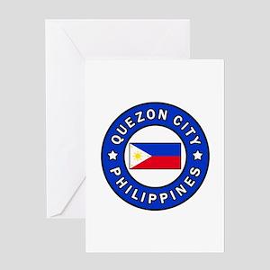 Quezon City Philippines Greeting Cards