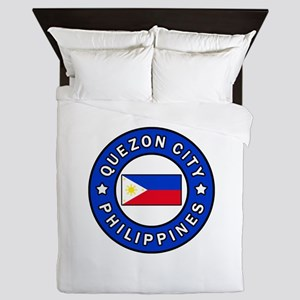 Quezon City Philippines Queen Duvet