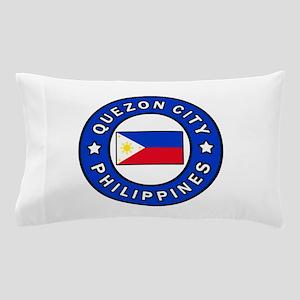 Quezon City Philippines Pillow Case