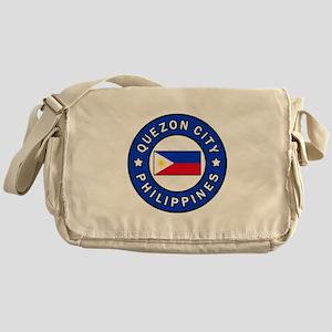 Quezon City Philippines Messenger Bag