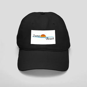 Zuma Beach Sunset Black Cap