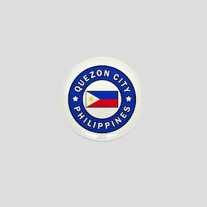 Quezon City Philippines Mini Button
