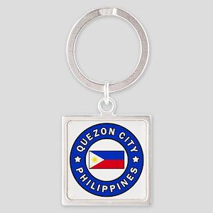 Quezon City Philippines Keychains