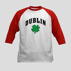 Dublin Ireland Kids Baseball Jersey