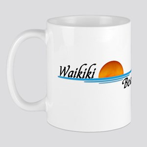 Waikiki Beach Sunset Mug