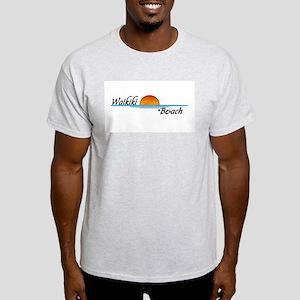 Waikiki Beach Sunset Light T-Shirt