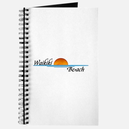 Waikiki Beach Sunset Journal
