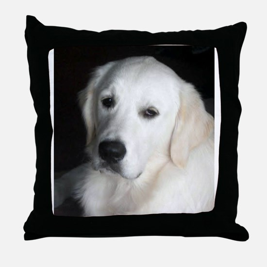 English Golden Throw Pillow